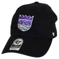Sacramento Kings NBA Clean Up Strapback Baseball Cap Dad Hat