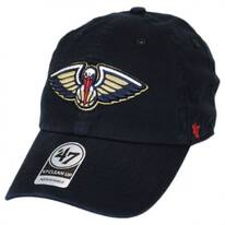 New Orleans Pelicans NBA Clean Up Strapback Baseball Cap