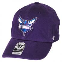 Charlotte Hornets NBA Clean Up Strapback Baseball Cap Dad Hat