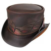 Phoenix Leather Top Hat