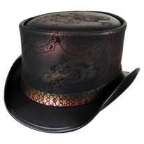 Balance Leather Top Hat