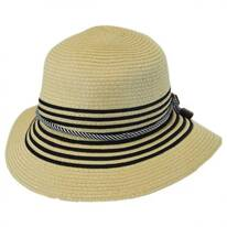 Rope Band Toyo Straw Cloche Hat