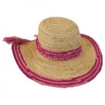 Tassels Raffia Straw Swinger Hat