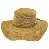 Organic Raffia Straw Floppy Planter Hat