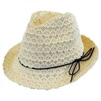 Cotton Lace Fedora Hat