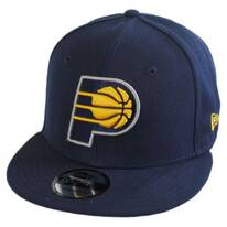 Indiana Pacers NBA On Court Snapback Baseball Cap