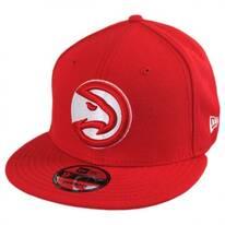 Atlanta Hawks NBA On Court Snapback Baseball Cap