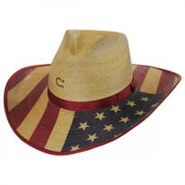 Hero Palm Leaf Straw Western Hat
