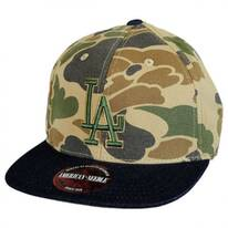 Los Angeles Dodgers MLB Dillon Strapback Baseball Cap Dad Hat