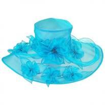 Tippi Wide Brim Boater Hat