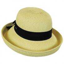 Toyo Straw Kettle Brim Sun Hat