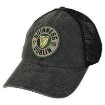 Guinness Raglan Bones Mesh Trucker Strapback Baseball Cap