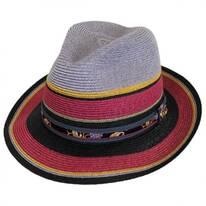 Heritage Milan Hemp Straw Fedora Hat