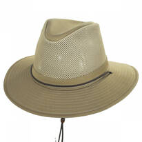 Mesh Cotton Aussie Fedora Hat