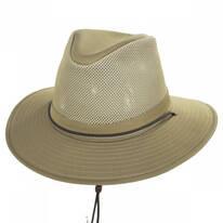 Mesh Cotton Aussie Fedora Hat