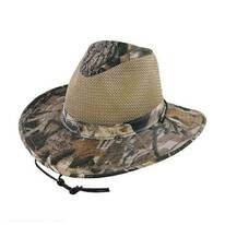 Mesh Cotton Aussie Fedora Hat - 3X