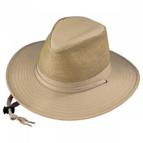 Solarweave Crushable Aussie Fedora Hat - 3X