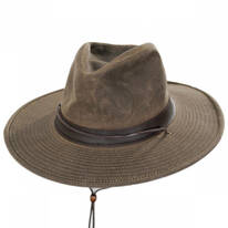 Weekend Walker Waxed Cotton Outback Hat
