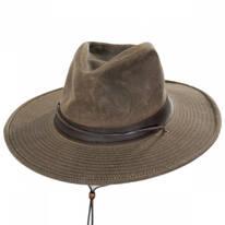 Weekend Walker Waxed Cotton Outback Hat
