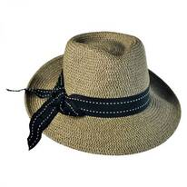 Rich Pitch Toyo Straw Fedora Hat