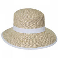 Pitch Perfect Framer Toyo Straw Cloche Hat