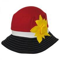 Kids Scarlett Cotton Sun Hat