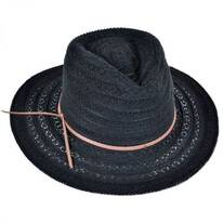 Leather and Lace Cowboy Hat