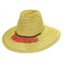 Garapoba Straw Fedora Hat