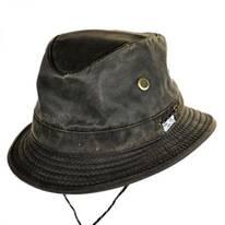 Weathered Cotton Hiker Bucket Hat
