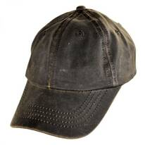Weathered Cotton Lo Pro Strapback Baseball Cap