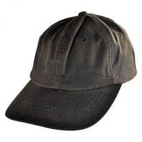 Oilskin Cotton Lo Pro Strapback Baseball Cap