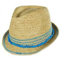 Kids' Play Time Raffia Straw Fedora Hat