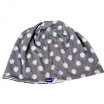 Scribble/Dot Drizzle Cotton Beanie Hat