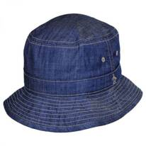 Chambray Cotton Bucket Hat