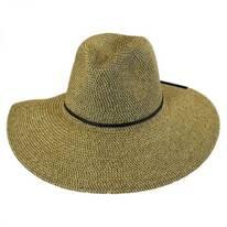 Sancho Toyo Straw Fedora Hat