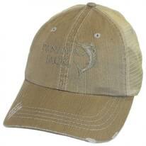 Marlin Mesh Trucker Adjustable Baseball Cap