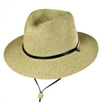 Kids' Chincord Toyo Straw Fedora Hat