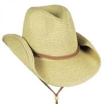 Heather Toyo Straw Cowboy Hat