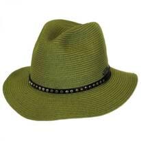 Villager Straw Fedora Hat