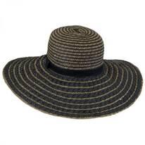 Beach Textured Toyo Straw Sun Hat