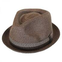 Archer Toyo Straw Braid Fedora Hat