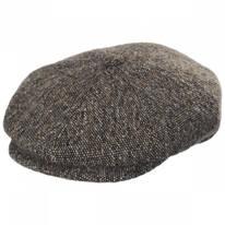 Galvin Wool Tweed Newsboy Cap