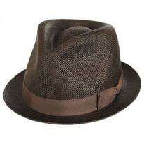 Sydney Panama Straw Fedora Hat