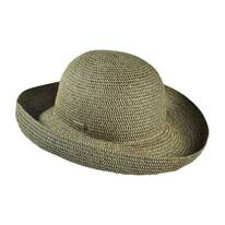 Classic Toyo Straw Roll Up Sun Hat