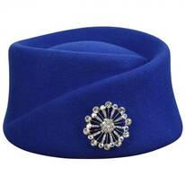 Heritage Collection 1910s Wool Felt Toque Hat - Made to Order