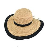 Margate Raffia Straw Floppy Sun Hat