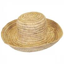 Sonoma Raffia Straw Crusher Hat
