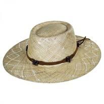 Honey Straw Western Hat