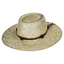 Honey Straw Gambler Western Hat