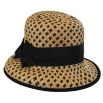 Bridgitte Toyo Straw Bucket Hat